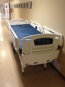 Hicks Family donates new hospital bed