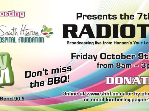 South Huron Hospital Foundation - Poster - Radiothon 2020